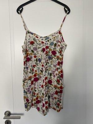 Jumpsuit mit Spaghettiträgern und floralem Print von H&M
