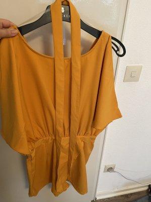 Amisu Jumpsuit light orange