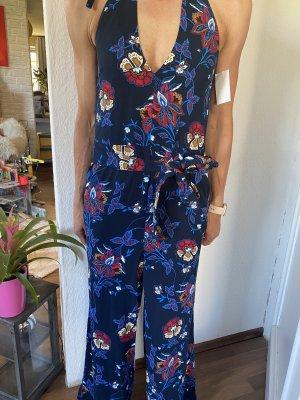 H&M Sukienka plażowa niebieski-ciemnoniebieski