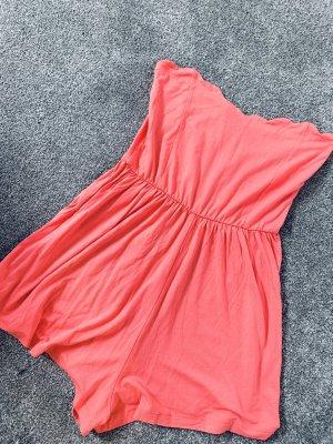Jumpsuit orange Gr. 38 ASOS trägerlos / schulterfrei
