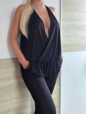 Amisu Langer Jumpsuit black