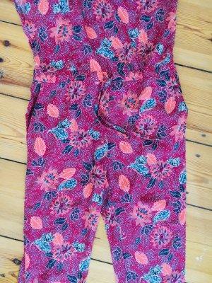 Traje de pantalón multicolor