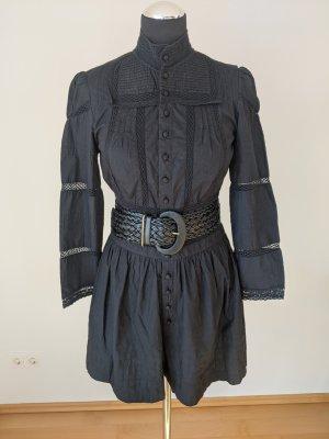 Maje Kurzer Jumpsuit black