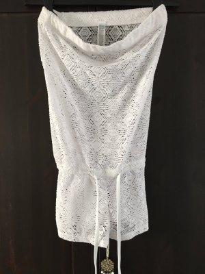 Fishbone Jumpsuit white