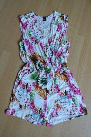 Jumpsuit Playsuit Urlaub floral H&M bunt