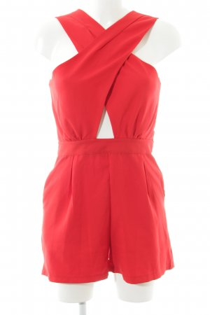 Jumpsuit rot Casual-Look