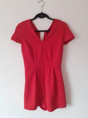 Bershka Tuta rosso-rosso mattone