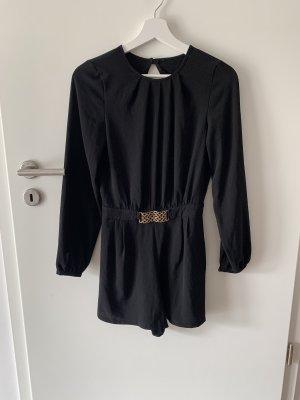 Jumpsuit schwarz 34