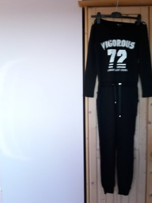 Onesie black cotton