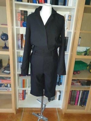 Jumpsuit Vila schwarz Gr. S Langarm Caprihose casual basic