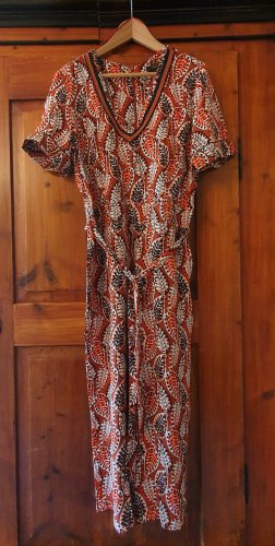 1.2.3. UN DEUX TROIS Paris Jumpsuit multicolored viscose
