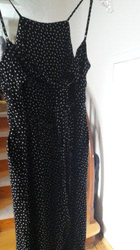 Abercrombie & Fitch Jumpsuit wit-zwart
