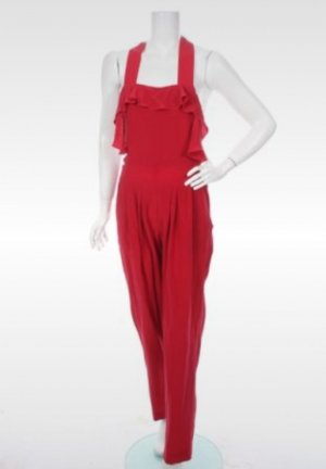 Cacharel Jumpsuit rood-donkerrood