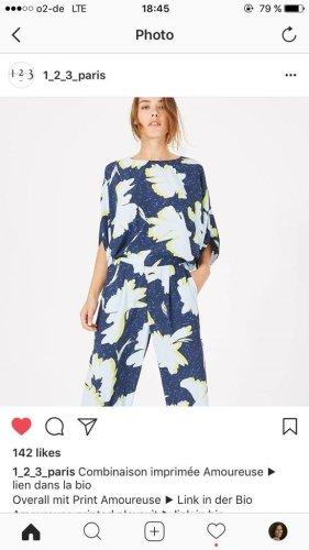 1.2.3 Paris Chiffon Dress neon blue viscose