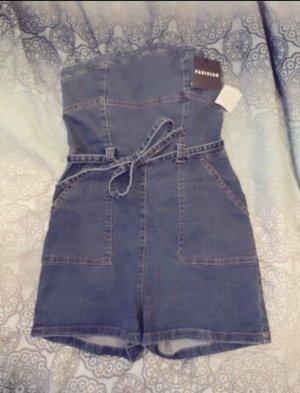Parisian Jeans elasticizzati blu acciaio-blu