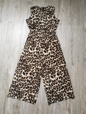 Jumpsuit XS S Leo Leopardenmuster Animalprint