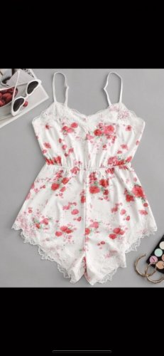 Zaful Twin Set tipo suéter bright red-white