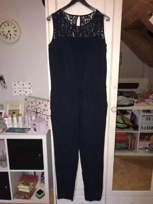 Zero Tailleur-pantalon bleu foncé