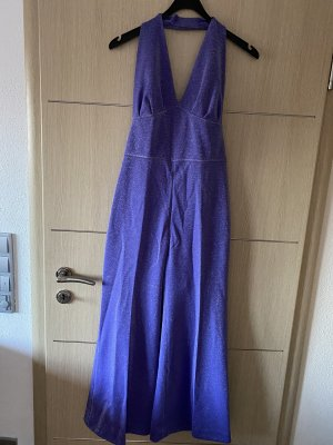Jumpsuits Hosenkleid , Glitzer Größe  34/36, Vintage