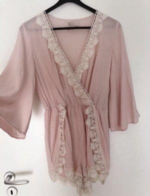 H&M Mono rosa-crema