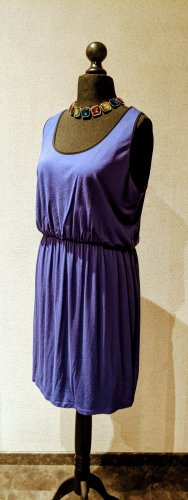 Junarose by Vero Moda Kleid ärmellos blauviolett Viskose Größe M entspricht EU44