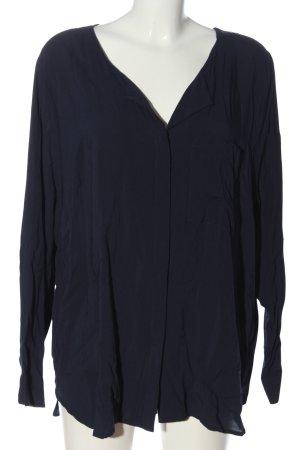 Junarose Hemd-Bluse blau Casual-Look