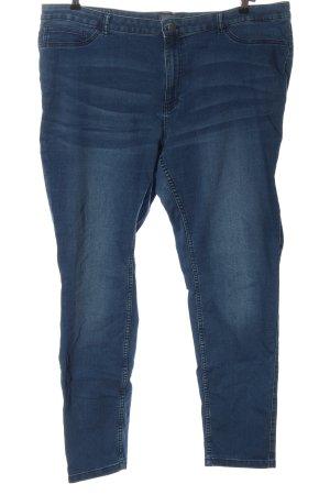 Junarose Röhrenjeans blau Casual-Look