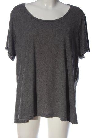 Junarose T-Shirt hellgrau Casual-Look