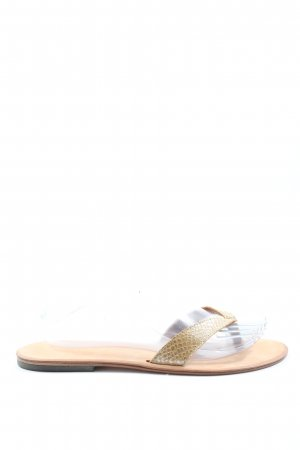 June Dianette sandalen goud-room casual uitstraling