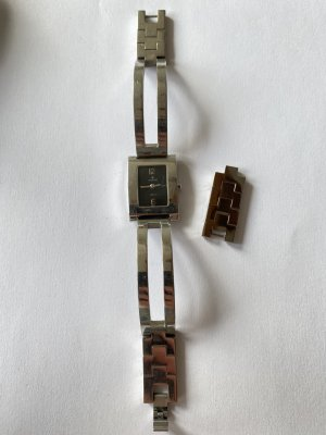 Junghans Watch Clasp silver-colored-black