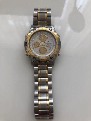 Junghans Reloj con pulsera metálica color oro-color plata