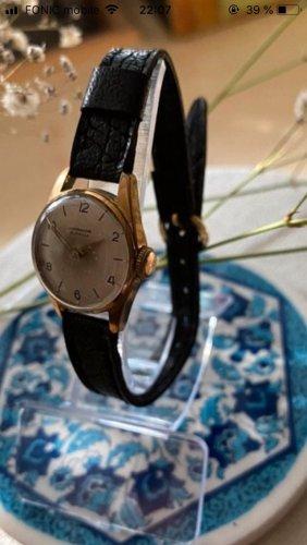 Junghans Vintage Uhr Gold