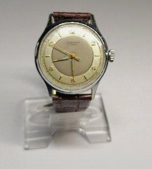 Junghans Analoog horloge goud-bruin