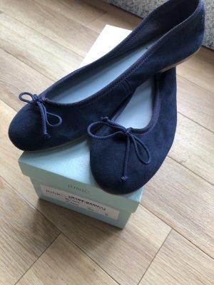 Junic Ballerina navy dunkelblau UVP 99€ Größe 42 NEU ungetragen fallen kleiner aus (41-41,5)