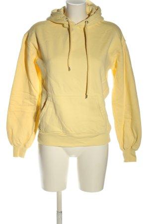 Junkyard Sweat à capuche jaune primevère style décontracté