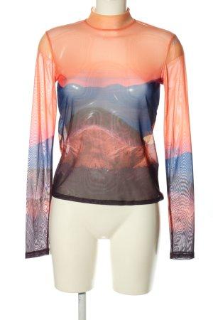 Junkyard Netshirt abstract patroon casual uitstraling