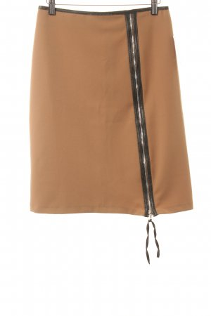 Jus d'Orange Minirock camel Street-Fashion-Look