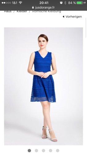 JUS D' ORANGE PARIS blaues Kleid Gr.38 Prêt-à-Porter