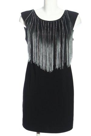 Just Addict Abendkleid schwarz-hellgrau Elegant