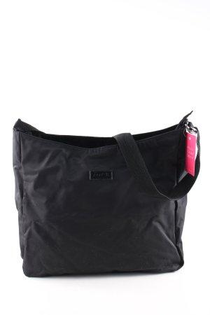 just B. Gekruiste tas zwart casual uitstraling