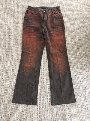 Just cavalli Jeans a gamba dritta multicolore