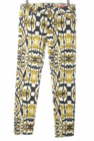Just cavalli 7/8-Hose abstraktes Muster Casual-Look
