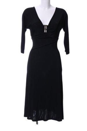 Just cavalli Robe de soirée noir élégant