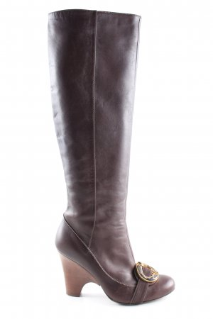 Just cavalli Absatz Stiefel braun Street-Fashion-Look
