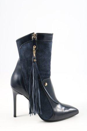 Just cavalli Absatz Stiefel blau Casual-Look
