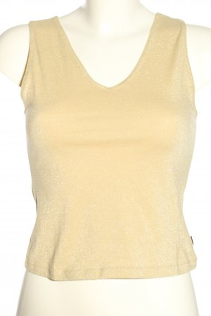 Just cavalli Basic Top creme meliert Casual-Look