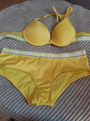 Just cavalli Bikini żółty