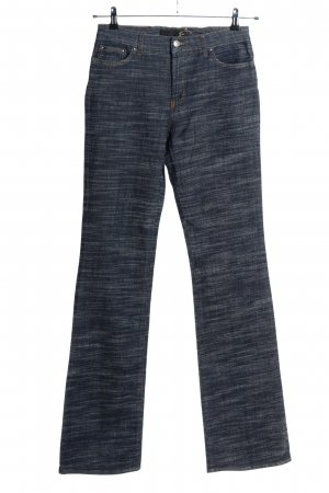Just cavalli Boot Cut Jeans blue flecked casual look