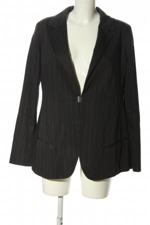 Just cavalli Boyfriend blazer zwart gestreept patroon zakelijke stijl