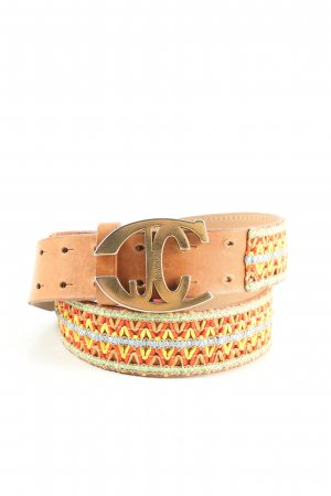 Just cavalli Double Belt multicolored casual look